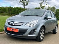USED 2013 62 VAUXHALL CORSA 1.2 EXCLUSIVE CDTI ECOFLEX AC 73 BHP 5 DR HATCH BACK 1 OWNER* AIR CON* FIRST CAR!