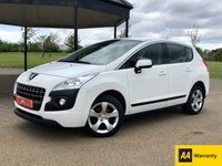 2013 PEUGEOT 3008 1.6 HDI ACTIVE 115 BHP 5DR ESTATE £SOLD