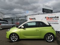 USED 2013 63 VAUXHALL ADAM 1.2 i VVT 16v SLAM 3dr 2 LADY OWNERS+FULL MOT+VALUE