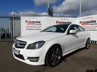 USED 2013 13 MERCEDES-BENZ C CLASS 1.6 C180 AMG Sport Plus 7G-Tronic Plus 2dr FULL MOT+LOW MILES+PAN ROOF