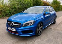 USED 2013 13 MERCEDES-BENZ A CLASS 2.0 A250 BLUEEFFICIENCY ENGINEERED BY AMG 5d AUTO 211 BHP, SAT NAV, REAR CAMERA, BLUETOOTH