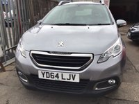 USED 2014 64 PEUGEOT 2008 1.6 E-HDI ACTIVE FAP 5d 92 BHP 22000 miles, diesel, alloys air/con, low road tax, superb economy