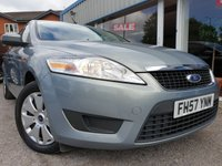 USED 2007 57 FORD MONDEO 2.0 EDGE 5d 145 BHP