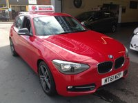 USED 2012 61 BMW 1 SERIES  116I  SPORT 1.6 TURBO ....Stunning Car.....
