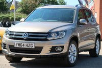 2015 VOLKSWAGEN TIGUAN 2.0 MATCH TDI BLUEMOTION TECHNOLOGY 4MOTION 5d 139 BHP £11495.00