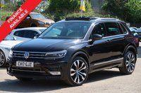 USED 2017 17 VOLKSWAGEN TIGUAN 2.0 R LINE TDI BMT 5d 148 BHP PANORAMIC SUNROOF NAVIGATION FULL LEATHER INTERIOR
