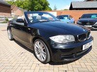 USED 2008 51 BMW 1 SERIES 3.0 125I SE 2d 215 BHP FSH+HALF LEATHER+ALLOYS+CRUISE