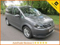 USED 2015 65 VOLKSWAGEN TOURAN 1.6 SE TDI BLUEMOTION  DSG 5d AUTOMATIC 106 BHP.*ULEZ COMPLIANT*EURO 6* Good Value One Owner Automatic Volkswagen Touran with Seven Seats, Air Conditioning, Cruise Control, Alloy Wheels and Volkswagen Service History. This Vehicle is ULEZ Compliant.