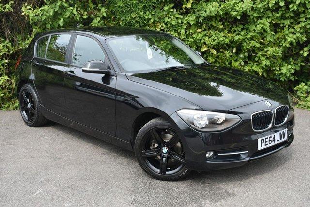 2014 64 BMW 1 SERIES 2.0L 116D SPORT 5d 114 BHP