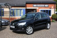 USED 2010 60 VOLKSWAGEN TIGUAN 2.0 SPORT TDI 4MOTION DSG 5d 138 BHP 3 owners from new full service history!