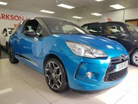 USED 2011 61 CITROEN DS3 1.6 DSPORT HDI 3d+BLACK ROOF BLACK ALLOYS CRUISE CONTROL