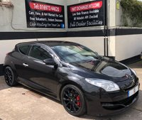 USED 2010 10 RENAULT MEGANE RENAULTSPORT 2.0T 16V 3DR 250 BHP, HEATED LEATHER ELEC ADJUST RS SEATS FULL HEATED LEATHER RS SEATS