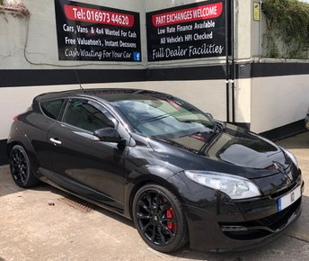 2010 RENAULT MEGANE RENAULTSPORT 2.0T 16V 3DR 250 BHP, HEATED LEATHER ELEC ADJUST RS SEATS £9250.00