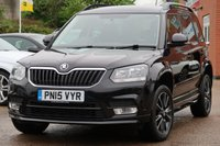 2015 SKODA YETI 2.0 BLACK EDITION TDI CR 5d 138 BHP £11995.00