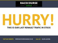 USED 2010 10 RENAULT TRAFIC 2.0 LL29 SPORT DCI 1d 110 BHP