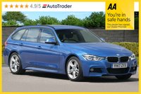 USED 2017 17 BMW 3 SERIES 2.0 320D M SPORT TOURING 5d AUTO 188 BHP ONE OWNER Facelift Model
