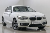 USED 2016 16 BMW 1 SERIES 2.0 118D SPORT 5d 147 BHP
