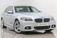 USED 2017 17 BMW 5 SERIES 2.0 520D M SPORT 4d AUTO 188 BHP