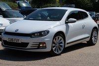2016 VOLKSWAGEN SCIROCCO 2.0 GT TDI BLUEMOTION TECHNOLOGY 2d 150 BHP £11995.00