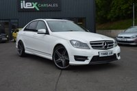 2013 MERCEDES-BENZ C CLASS 2.1 C220 CDI BLUEEFFICIENCY AMG SPORT PLUS 4d AUTO 168 BHP £11995.00