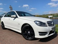 2012 MERCEDES-BENZ C CLASS 2.1 C200 CDI BLUEEFFICIENCY SPORT 4d AUTO 135 BHP £8990.00