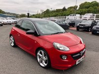 USED 2012 62 VAUXHALL ADAM 1.4 SLAM S/S 3d 85 BHP £3,225 in extras costing almost £16,000 inc leather, 18 inch, heated seats, Sat Nav +++