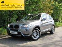 2013 BMW X3 2.0 XDRIVE20D SE 5d AUTO 181 BHP £13695.00