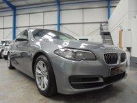 2013 BMW 5 SERIES 2.0 520D SE 4d AUTO 181 BHP £10995.00