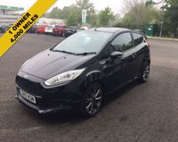 USED 2017 17 FORD FIESTA 1.0 ST-LINE ECOBOOST (125ps) 3d THIS VEHICLE IS AT SITE 1 - TO VIEW CALL US ON 01903 892224