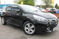 USED 2015 15 RENAULT CLIO 0.9 DYNAMIQUE MEDIANAV ENERGY TCE S/S 5d 90 BHP £20 PER YEAR ROAD TAX - VERY WELL REFINED VEHICLE - LOW MILES - SERVICE HISTORY