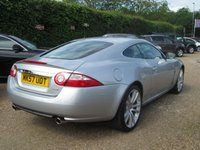 USED 2007 57 JAGUAR XK 4.2 COUPE 2d AUTO 294 BHP FULL SERVICE HISTORY - SEE IMAGES