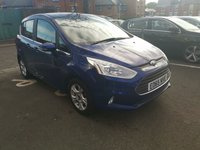 USED 2015 65 FORD B-MAX 1.4 ZETEC 5d 89 BHP ONLY 8897 MILES FROM NEW WITH FULL FORD SERVICE HISTORY HEATED FRONT SCREEN ALLOYS PARKING SENSORS LOW CO2 MEETS LARGE CITY EMISSION STANDARDS IDEAL FAMILY CAR