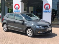 USED 2016 66 VOLKSWAGEN POLO 1.0 MATCH 5d 74 BHP 1 OWNER | BLUETOOTH | DAB |