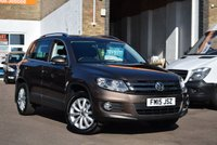 USED 2015 15 VOLKSWAGEN TIGUAN 2.0 MATCH TDI BLUEMOTION TECH 4MOTION DSG 5d 139 BHP A well maintained 2015 Vw Tiguan 2.0tdi Match 4x4 auto with Vw service history and 2 keys.