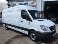 2012 MERCEDES-BENZ SPRINTER LWB HIGH ROOF 130BHP LOW 79K MILES CLEAN VAN CHOICE OF IN STOCK  £7995.00