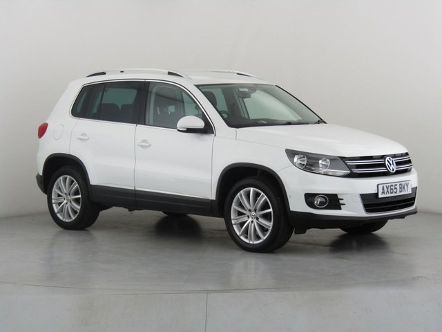 View our 2015 65 VOLKSWAGEN TIGUAN 2.0 MATCH EDITION TDI BMT 4MOTION 5d 148 BHP