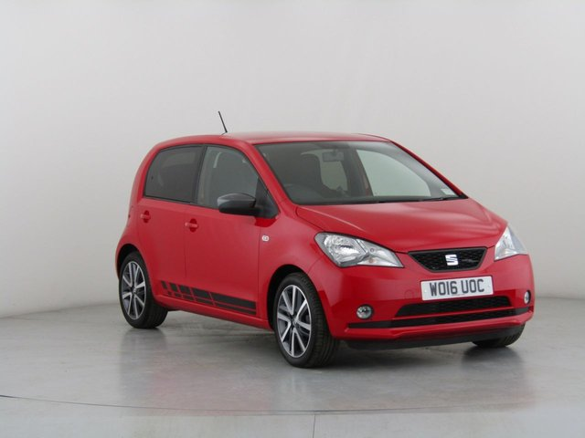 View our 2016 16 SEAT MII 1.0 FR-LINE 5d 74 BHP