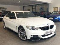 USED 2013 63 BMW 4 SERIES  420D M SPORT 2d AUTO 181 BHP M PERFORMANCE STYLING+PRO NAV