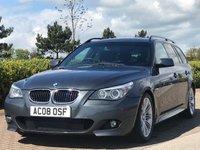 USED 2008 08 BMW 5 SERIES 2.0 520D M SPORT TOURING 5d AUTO 175 BHP
