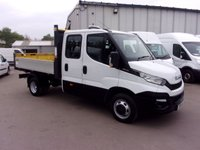 USED 2016 16 IVECO DAILY 2.3 35C13D CREW CAB TIPPER 126 BHP