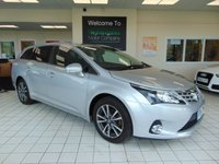 2014 TOYOTA AVENSIS 2.0 D-4D ICON 5d 124 BHP £8895.00