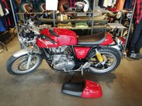 USED 2015 65 ROYAL ENFIELD CONTINENTAL 535cc CONTINENTAL GT  LOW MILES WITH EXHAUST