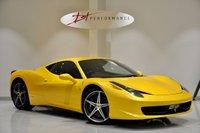 USED 2012 12 FERRARI 458 4.5 ITALIA DCT 2d AUTO 570 BHP