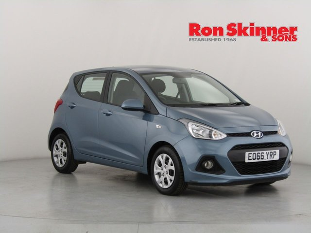 View our 2016 66 HYUNDAI I10 1.2 SE 5d 86 BHP