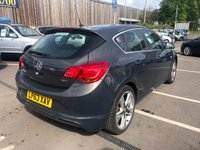 USED 2013 VAUXHALL ASTRA 1.7CDTi 16v (110ps) SRi Limited Edition Hatchback 5d 1686cc FULL SERVICE HISTORY+ONE OWNER