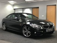 USED 2015 15 BMW 4 SERIES 2.0 420I M SPORT 2d 181 BHP+++SATELLITE NAVIGATION+++BLUETOOTH+++