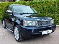 2007 LAND ROVER RANGE ROVER SPORT 3.6 TDV8 SPORT HSE 5d AUTO 269 BHP £8975.00