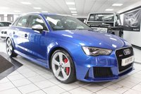 USED 2016 16 AUDI RS3 2.5 TFSI RS3 QUATTRO NAV S TRONIC 362 BHP DYNAMIC PACK SUPERSPORT SEATS B&O FASH
