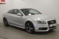 USED 2010 10 AUDI A5 2.0 TDI S LINE SPECIAL EDITION 2d 170 BHP LOW MILES + HEATED BLACK LEATHER + SERVICE HISTORY