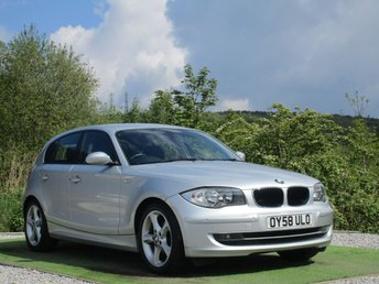 2008 BMW 1 SERIES 2.0 118D EDITION ES 5d 141 BHP £4790.00